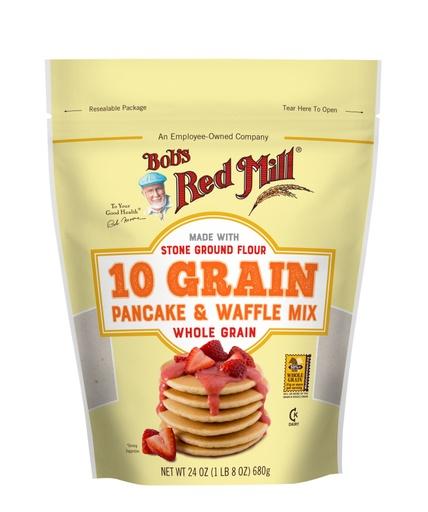 10 Grain Pancake Mix- front