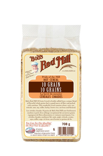 10 grain cereal - canadian - 708g - front