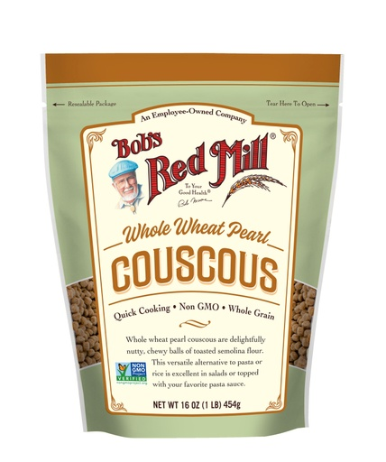 Couscous Whole Wheat Pearl- front