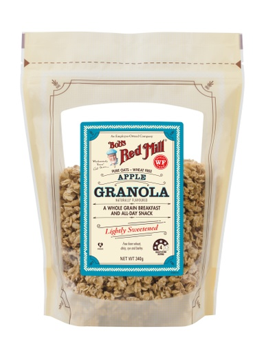 Apple Blueberry Granola - SUP - 340g - front - AU