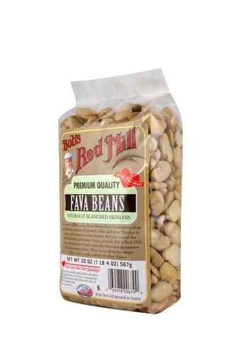 Beans fava - side