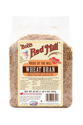 Wheat bran - front