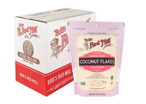 Coconut flakes unsweetened - case
