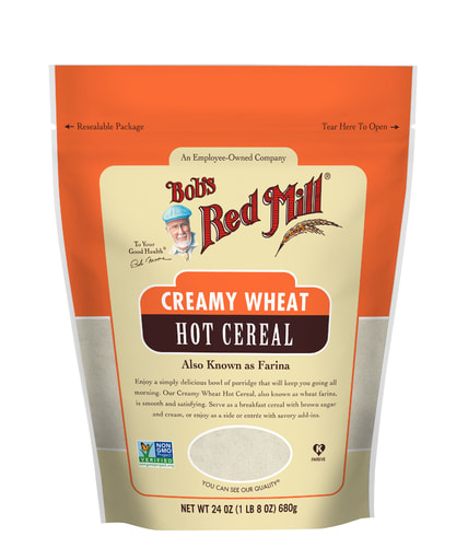 Creamy Wheat Hot Cereal- front