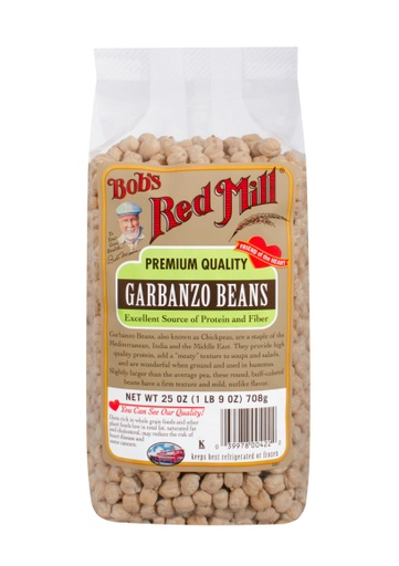 Beans garbanzo - front