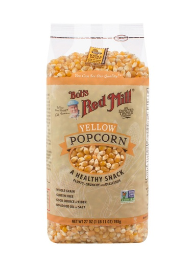 Yellow popcorn - 27 oz - front