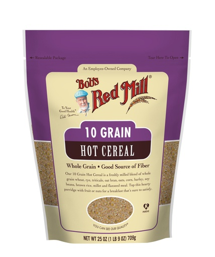 10 Grain Hot Cereal- front
