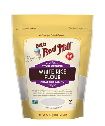 White Rice Flour- front