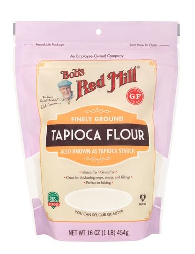 Tapioca Flour- front
