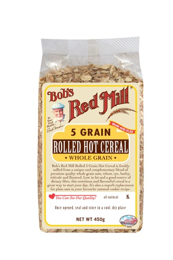 5 grain rolled hot cereal - front - uk