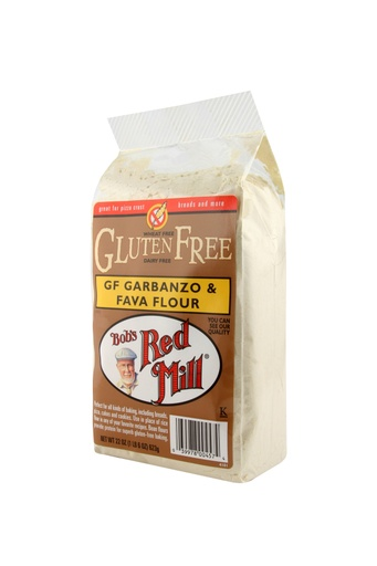 GF Garbanzo fava flour - side