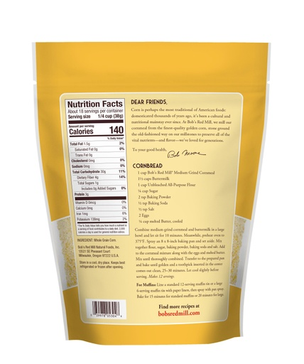 Cornmeal Medium Grind- back