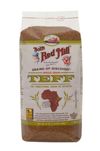 Teff whole grain - front