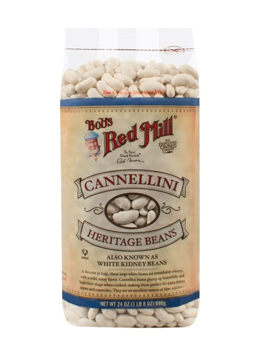Beans cannellini - front