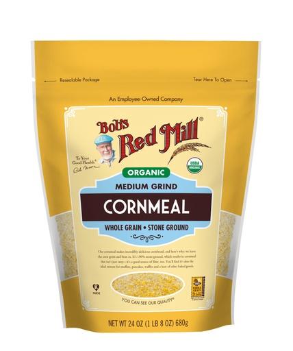 Cornmeal Medium Grind Organic- front