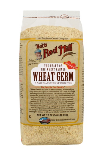 Wheat germ - front 12 oz