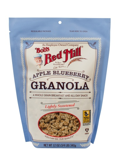 Apple Blueberry Granola - SUP - front