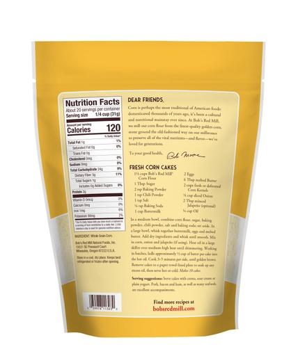 Corn Flour- back
