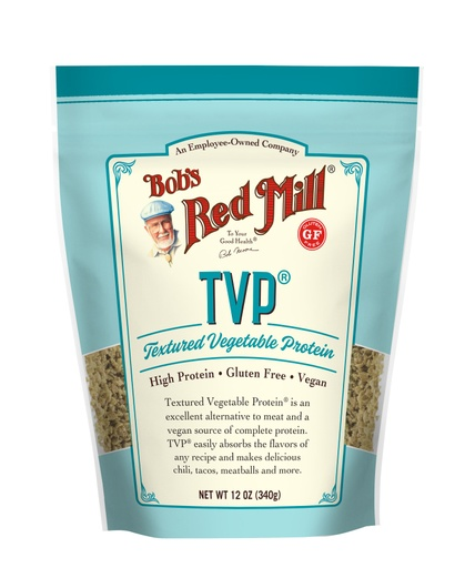 Textured Vegetable Protein- front