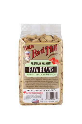 Beans fava - front
