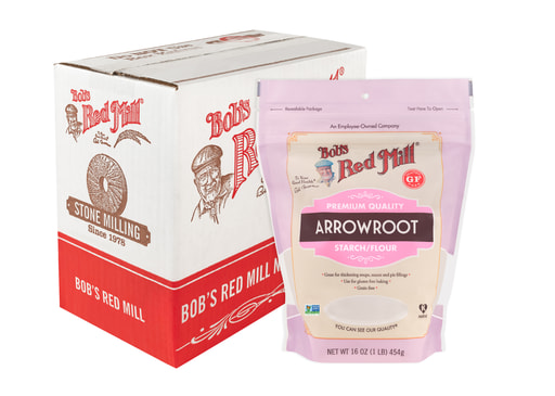 Arrowroot Starch- with case