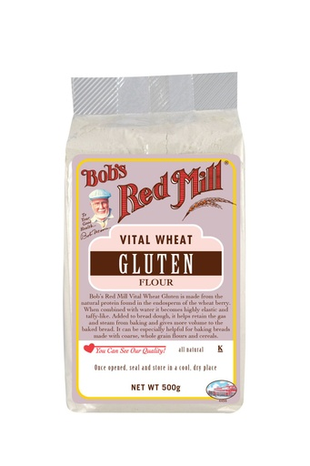 Vital wheat gluten - uk - front