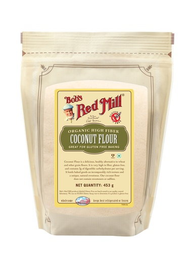 Coconut flour - 453g - IN - front