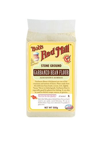 Garbanzo bean flour - uk - front