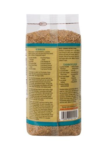 Bulgur red wheat ala - back