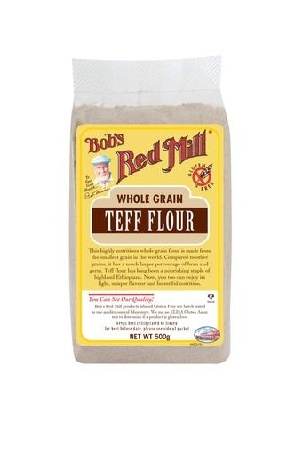 Teff flour - UK- front