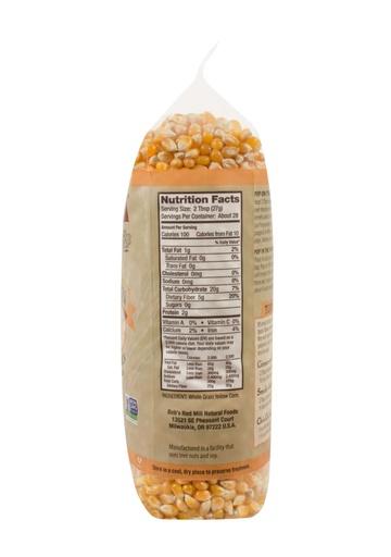 Yellow popcorn - 27 oz - right