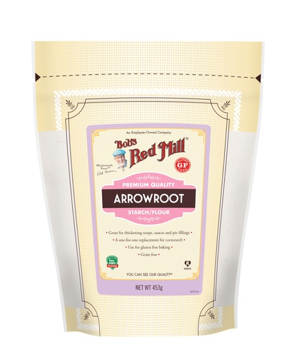 Arrowroot Starch- AU front