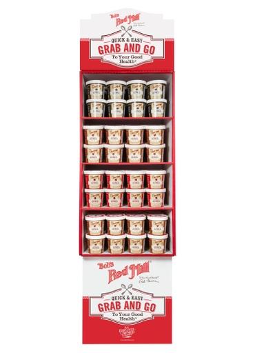 Gluten Free Oatmeal Cup 3 Flavor Shipper